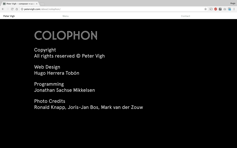 18 colophon