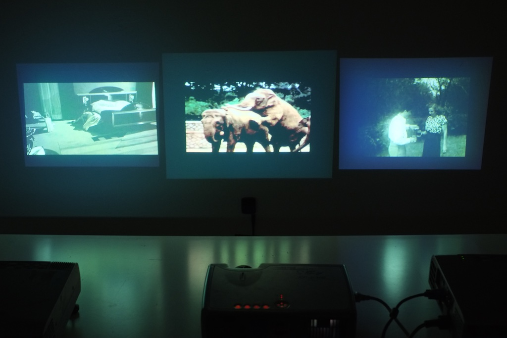 «Darkroom for intellectuals» by Hugo Herrera Tobón, shown at the Garage of Gallery Sign, 2014